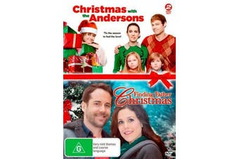 Christmas with the Andersons / Finding Father Christmas -Family DVD New