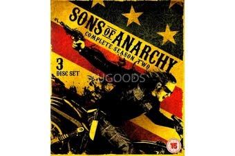 Sons of Anarchy Season Two - Blu-Ray Series Rare Aus Stock New Region B