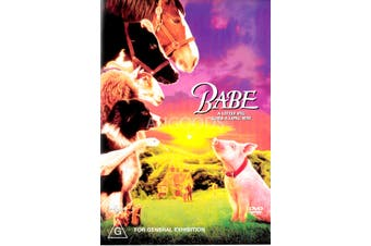 BABE - Rare DVD Aus Stock New Region 2,4