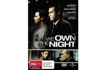 We Own the Night - Rare DVD Aus Stock New Region 4