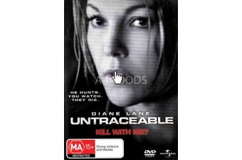 Untraceable - Rare DVD Aus Stock New Region 2,4