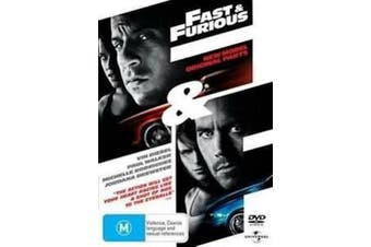 Fast and Furious - Rare DVD Aus Stock New