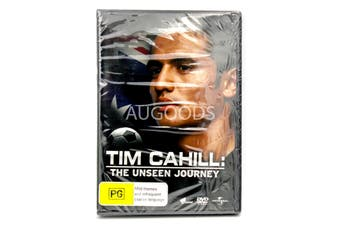 Tim Cahill : The Unseen Journey - Rare DVD Aus Stock New