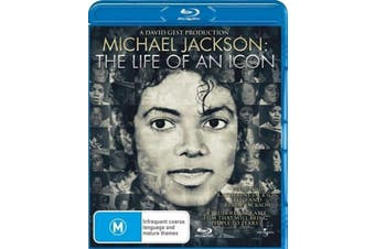 Michael Jackson: The Life of an Icon - Rare- Aus Stock Blu-Ray NEW