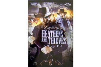 Heathens And Thieves -REGION 1 - Rare DVD Aus Stock New Region 1