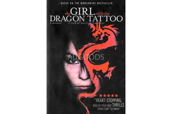 The Girl with the Dragon Tattoo - Region 1 Rare- Aus Stock DVD NEW