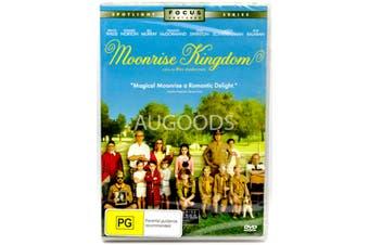Moonrise Kingdom -Family Series Region 1 Rare- Aus Stock DVD NEW