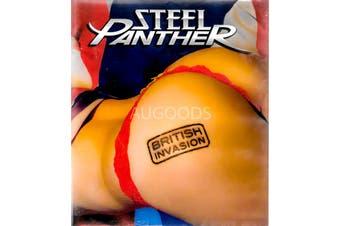 Steel Panther British Invasion -Educational Blu-Ray Rare Aus Stock New
