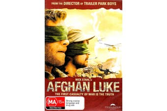 Afghan Luke -Rare DVD Aus Stock -War New Region 4