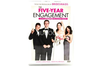 The Five- Year Engagement -Comedy Region 1 Rare- Aus Stock DVD NEW