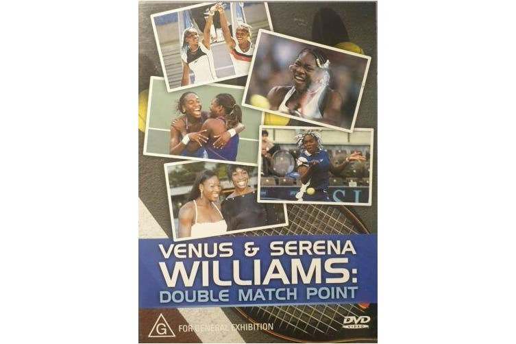Venus And Serena Williams Double Match Point - Series DVD NEW