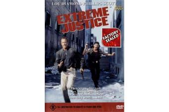EXTREME JUSTICE Region 4 Lou Diamond Phillips Ed Lauter - DVD New
