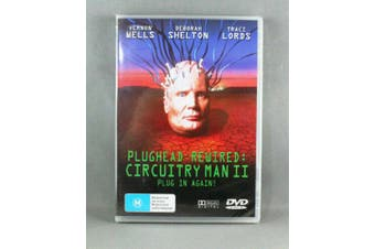 PLUGHEAD REWIRED CIRCUITRY MAN II - Rare DVD Aus Stock New Region ALL