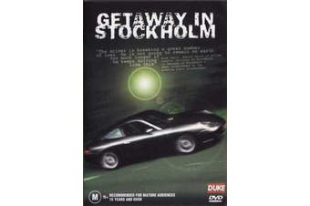 Getaway in Stockholm - Rare DVD Aus Stock New