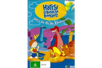 HARRY AND THE BUCKET FULL OF DINOSAURS -DVD Series Animated New