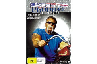 AMERICAN CHOPPER; THE SERIES TOOL BOX 12 -Educational DVD New