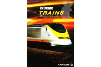 Best Of Extreme Machines Extreme Trains -Educational DVD Series New