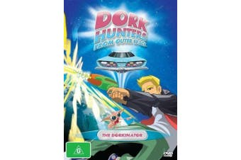 Dork Hunters From Outer Space The Dorkinator Vol 1 -DVD Series Animated New