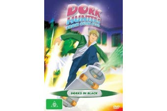 Dork Hunters From Outer Space Dorks In Black Vol 2 -DVD Series Animated New