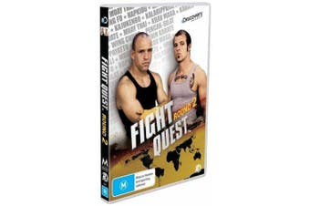 Fight Quest Round 2 (2-Disc Set) -Educational DVD Series Rare Aus Stock New
