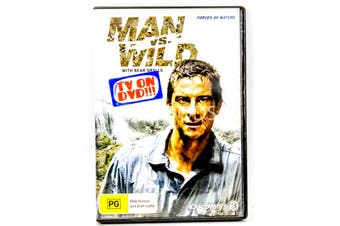 Man vs Wild with Bear Grylls - Forces of Nature -Educational DVD Series New