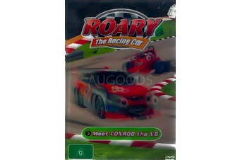 ROARY: THE RACING CAR: MEET CONROD THE V8 -Kids DVD Rare Aus Stock New