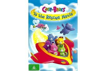 CARE-BEAR TO THE RESCUE MOVIE -Rare DVD Aus Stock Animated New