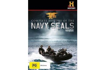 Complete History of the Navy Seals -Educational DVD Rare Aus Stock New Region ALL