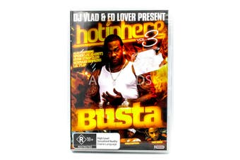 hot in here busta - Series Rare- Aus Stock DVD NEW