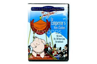 THE EMPEROR'S NEW CLOTHES & OTHER STORIES PAL Kid's Children -Kids DVD New