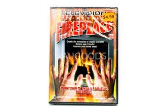 Television Virtual Fireplace Experience - Rare DVD Aus Stock New