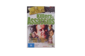 Killers & Assassins - 10 Movie - Rare DVD Aus Stock New Region 4