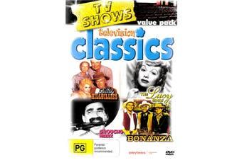 TELEVISION CLASSICS TV SHOW VALUE PACK - Region All Rare- Aus Stock DVD NEW