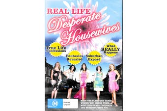 REAL LIFE DESPERATE HOUSEWIVES Rare TV Show ALL REGIONS