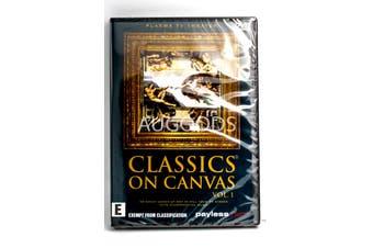 Classics On Canvas Vol 1 - Rare- Aus Stock DVD NEW