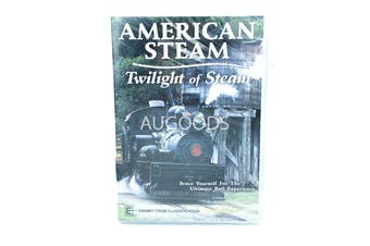 American steam Twilight of steam -Educational Series Rare- Aus Stock DVD NEW