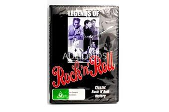 Legends Of Rock 'n' Roll - Rare- Aus Stock DVD NEW
