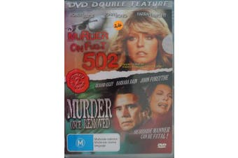 Double Pack Murder On Flight 502 Murder Once Removed - DVD New