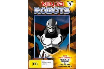 Ninja Robots Volume 7 - Rare DVD Aus Stock New Region ALL