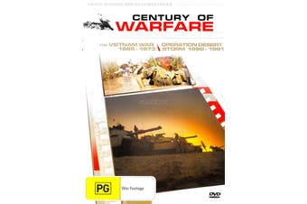 Century Of Warfare Vietnam War Operation Desert Storm -DVD War Series New