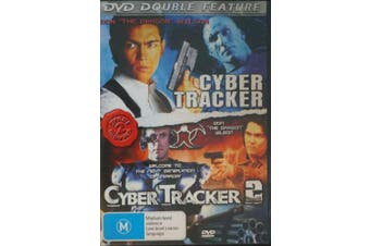 Cyber Tracker/Cyber Tracker 2 Disc Set - Rare DVD Aus Stock New