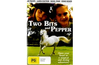 TWO BITS AND PEPPER Joe Piscopo, Lauren Eckstrom -Family DVD New Region ALL