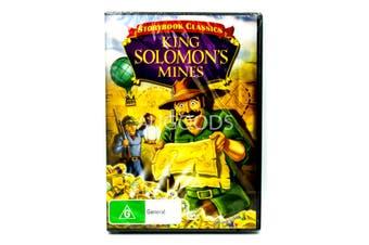 KING SOLOMON'S MINES : Storybook Classics Animated Family Adventure Movie.