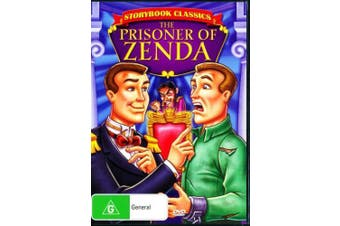 A Storybook Classic The Prisoner Of Zenda -Kids Rare- Aus Stock DVD NEW