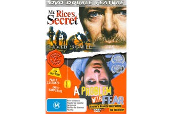Double Pack Mr. Rice's Secret A Problem With Fear - Rare DVD Aus Stock New