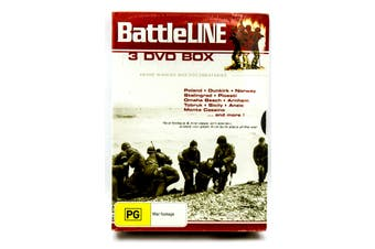 BattleLINE - 3 DISC BOX -Rare DVD Aus Stock War Series New