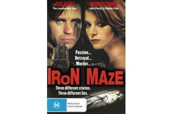 Iron Maze 1991 Jeff Fahey Bridget Fonda Region 4 - Rare- Aus Stock DVD NEW