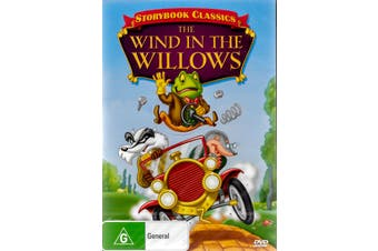 Storybook Classics: The Wind the Willows Animated -Kids DVD New Region 4