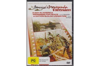 AMERICA'S PROPAGANDA VIETNAM - 3 DOCUMENTARIES -DVD War Series New