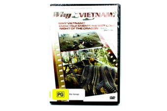 Why Vietnam -Rare DVD Aus Stock War Series New Region 4